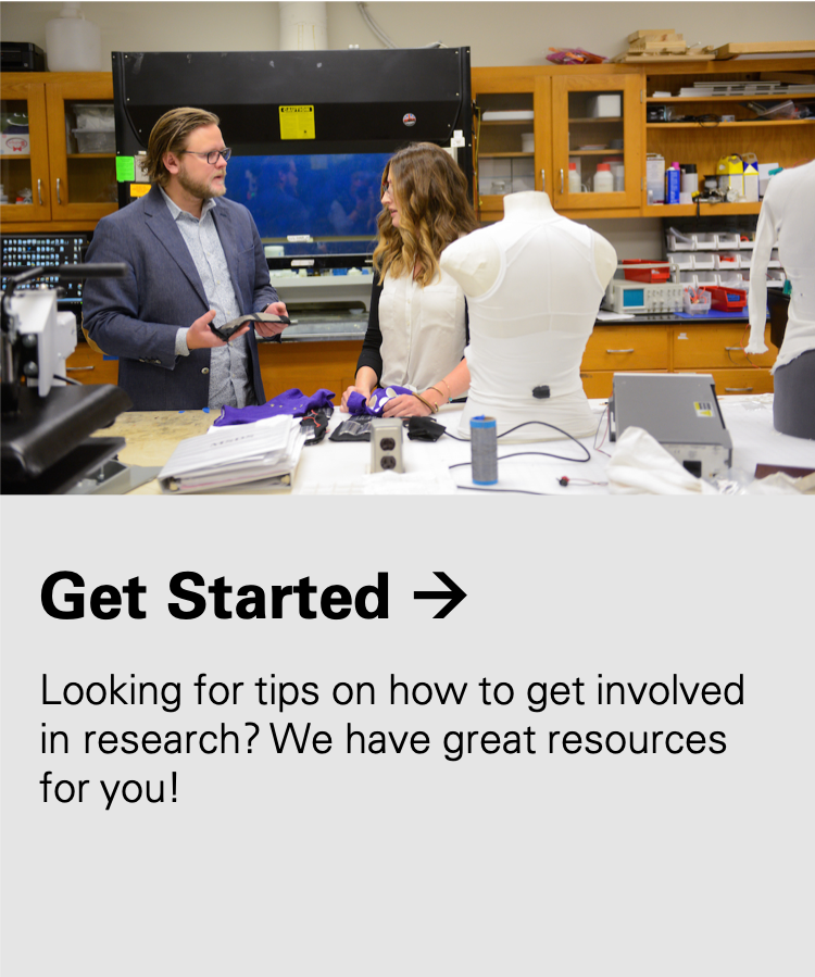 Get Started: Looking for tops on how to get involved in research? We have great resources for you!